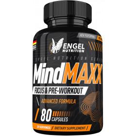 Engel Nutrition MindMAXX® Focus- & Pre-Workout - 80 Kapseln