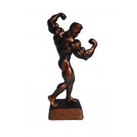 Bodybuilding Figur Man - Double Bizep 42 cm