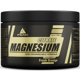 Peak Magnesium Citrate Powder - 240g Dose