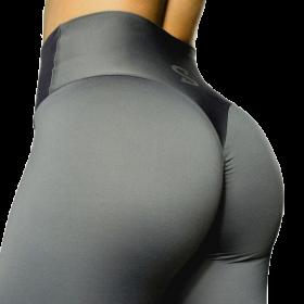 S-Shaped Leggings SARA Premium High Compression - Dark Grey