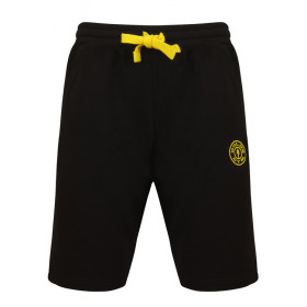 Golds Gym Logo Sweat Shorts - Schwarz