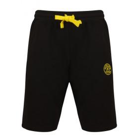 Golds Gym Logo Sweat Shorts - Schwarz