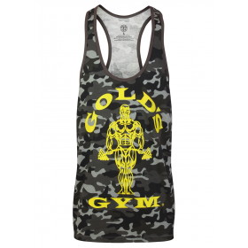 Golds Gym Muscle Joe Premium Tank  - camo black