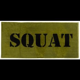 XXL Nutrition Gym Handtuch Squat - Army Green