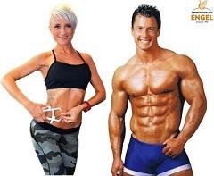 Diät Experte und Fitness Model Christian Engel mit Bea