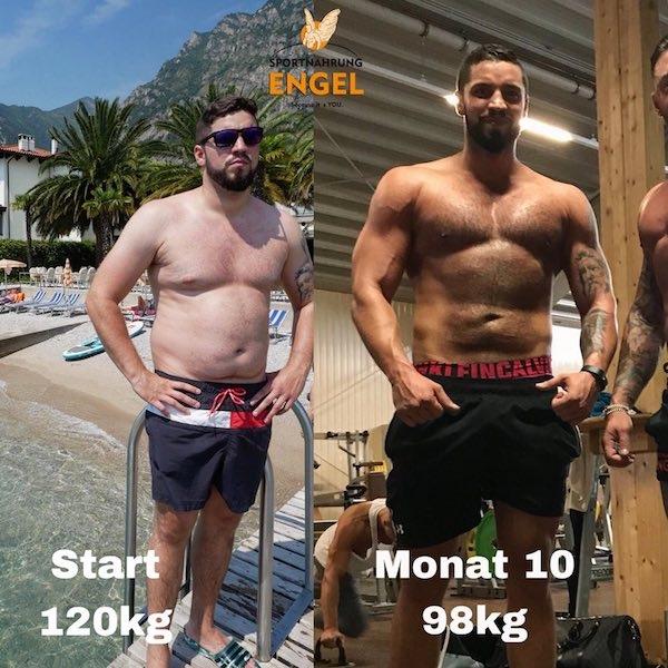 Transformation Sebastian aus dem Saarland