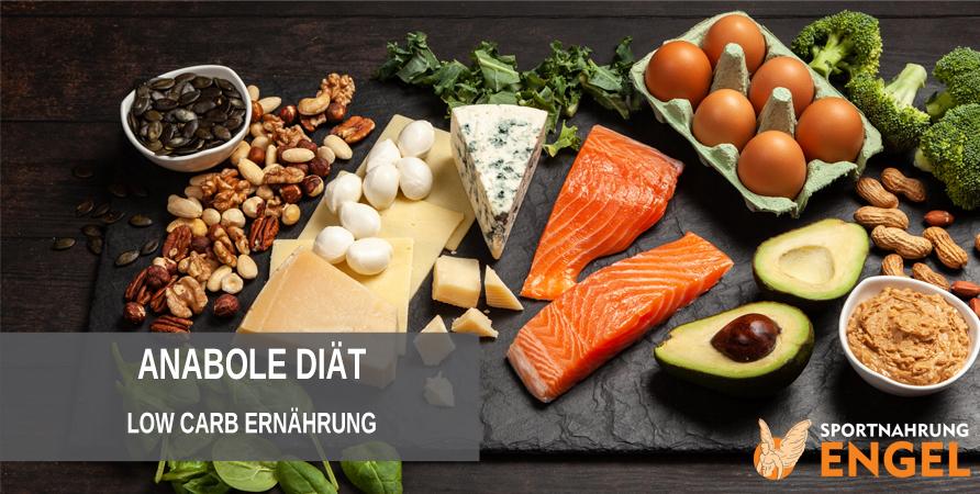 Anabole Diät mit Low Carb Ernährung zum maximalen Muskelaufbau