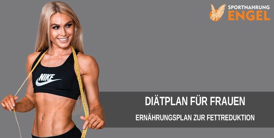Mit dem Frauen Diätplan effektiv Fett abbauen