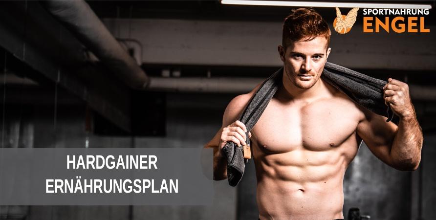 Hardgainer Ernährungsplan von Profis zum Muskelaufbau