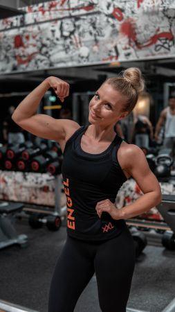 Joana Werle mit vegetarischer Ernährung zur Bikini Fitness Figur