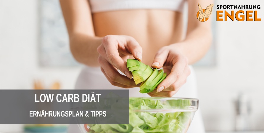 Ernährungsplan zur Gewichtsreduktion mit kohlenhydratarmer Ernährung