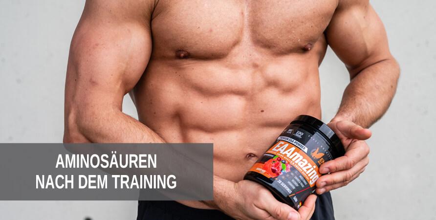 Welche Aminosäuren sind nach dem Training besonders wichtig?