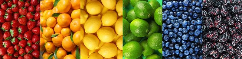Zitrusfrüchte und Beeren sind Entzündungshemmende Lebensmittel