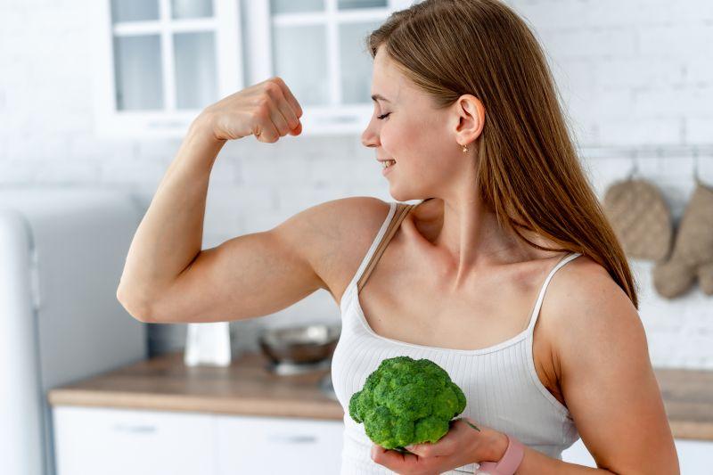 Brokkoli beliebtes Gemüse beim Sportler