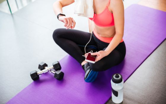 Fitness Tracker Kalorien tracken