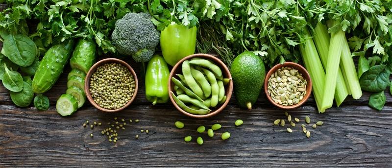 No Carb Gemüse und Hülsenfrüchte