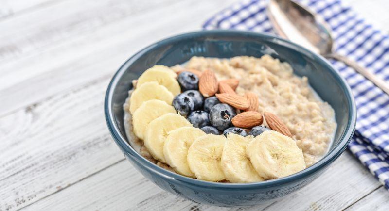 Frühstücksidee mit Haferflocken