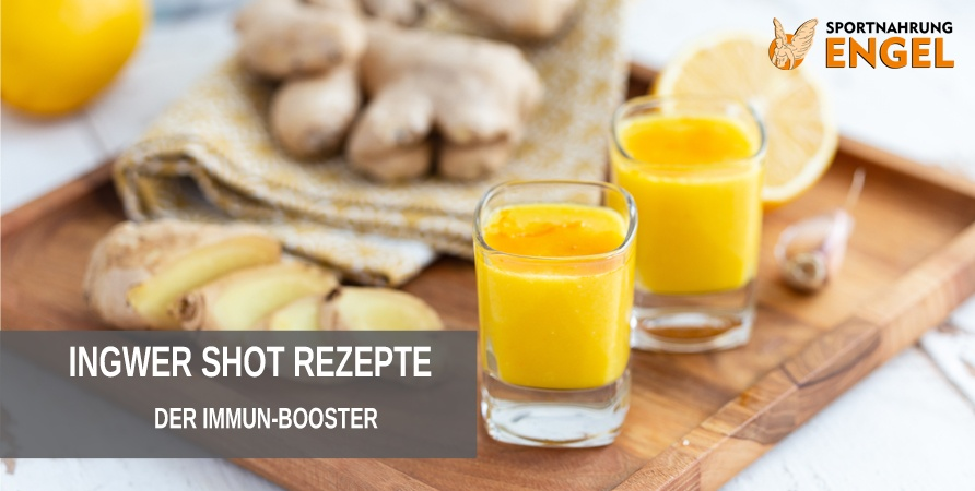 Ingwer Shot Rezepte der Immun Booster