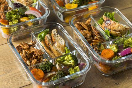 Optimale Lebensmittel für Meal Prepping