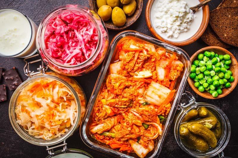 Probiotische Nahrungsmittel