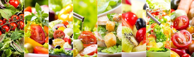 Iss täglich einen großen Salat zur Entgiftung