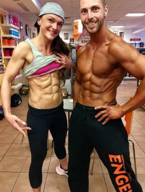 Sixpack vergleich Mann und Frau