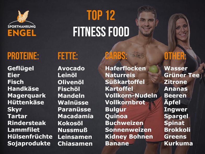 Nahrungsmittel für Bodybuilder zum Muskelaufbau