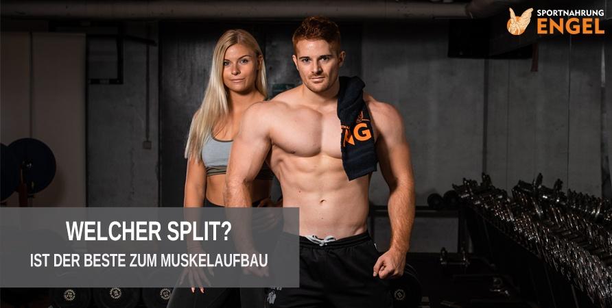 Welcher Split ist der beste für mich zum Muskelaufbau