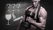 Rauchen und Alkohol zum Muskelaufbau