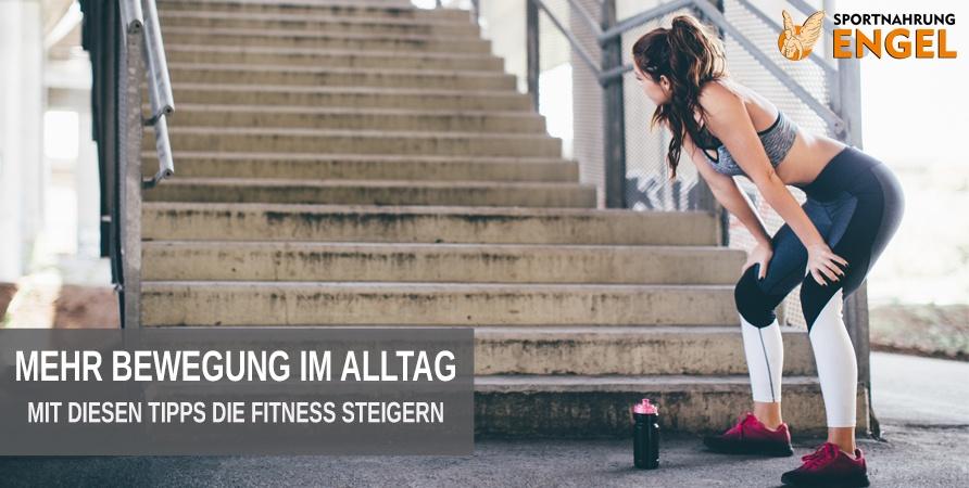 Tipps für den Alltag wie du mit mehr Bewegung fitter wirst