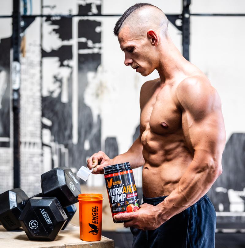 Muskelpump mit Pump Booster verstärken