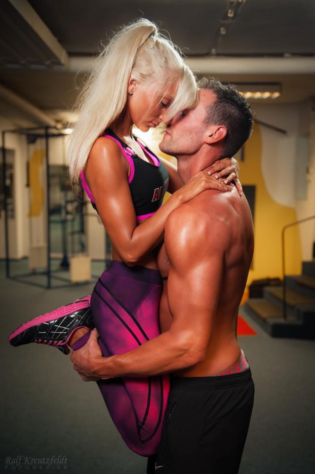 Paartraining, Fitness Training mit Freundin oder Freund