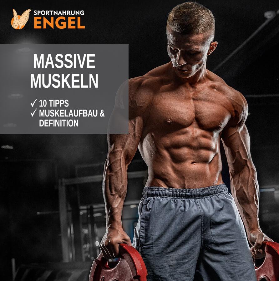 Massive Muskeln mit diesen Tipps erreichen