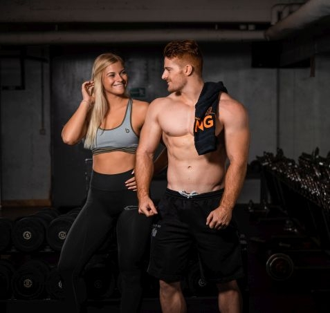 Trendige Fitnessbekleidung von Top-Markenherstellern