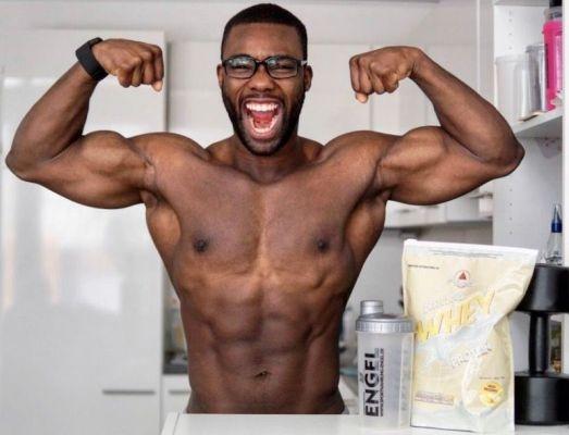 Schneller Muskelaufbau mit Whey Protein