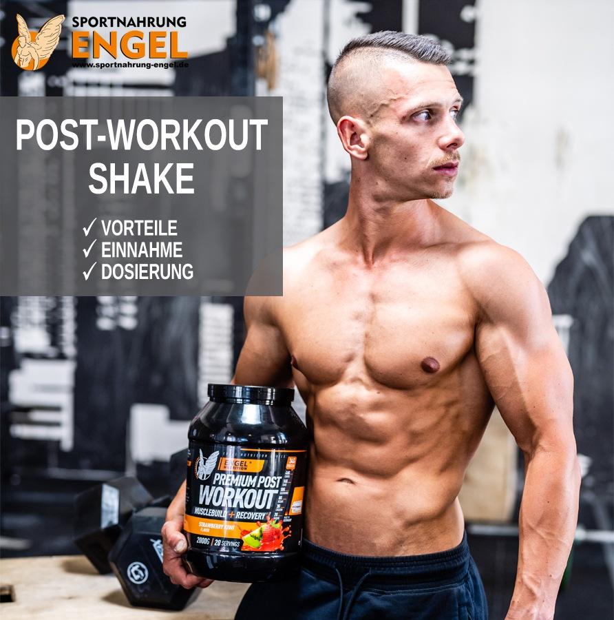 Post Workout Shake Einnahme Dosierung und Vorteile