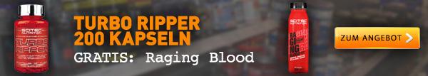 Turbo Ripper + Raging Blood Fat Burner Drink