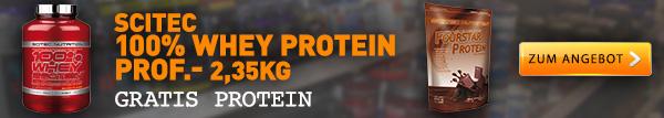 Scitec Whey + 500g Proteinpulver Gratis