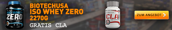 Iso Whey Zero plus gratis cla kapseln
