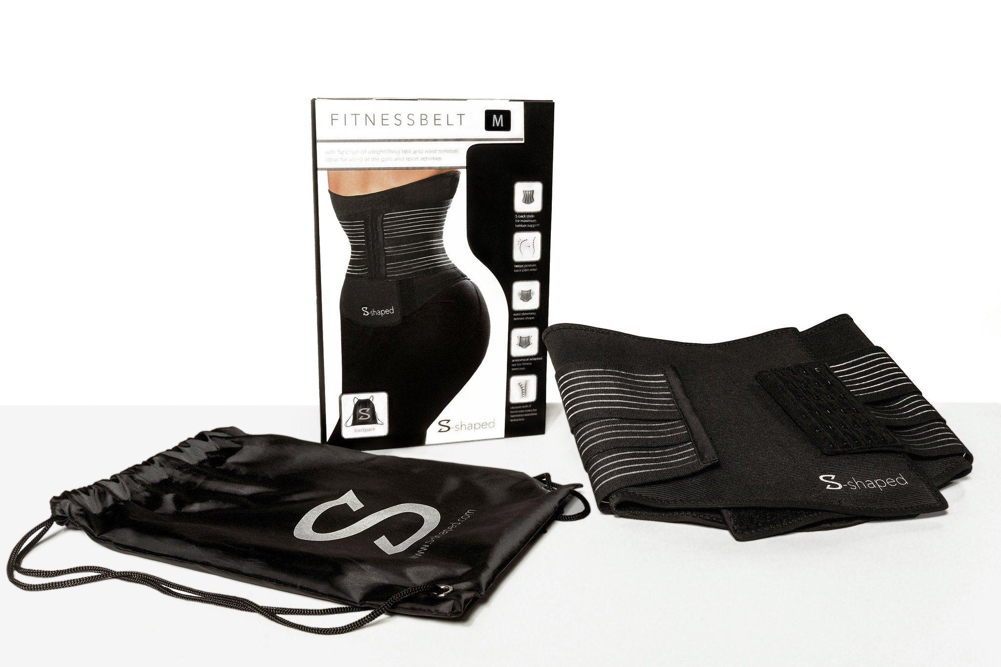 S-shaped Fitness Gürtel - Waisttrainer mit Funktion einer Korsage für die optimale Formung einer schmalen Taille. Jetzt bei Sportnahrung Engel!