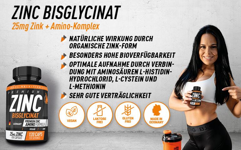 Highlights Engel Nutrition Zinc Bisglycinat LG