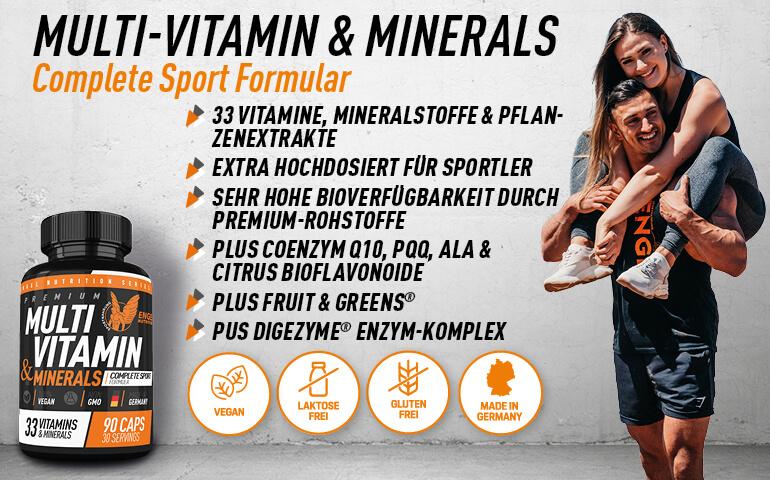 Highlights Multivitamin & Minerals LG