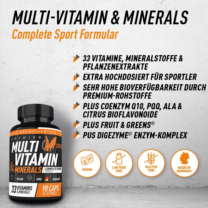 Engel Nutrition Multi Vitamin und Minerals Highlights XS