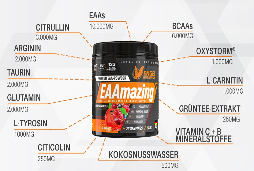 Engel Nutrition EAAamazing Produkthiglights XS
