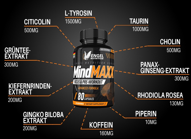 Highlights Mindmaxx Fokus Booster Booster LG