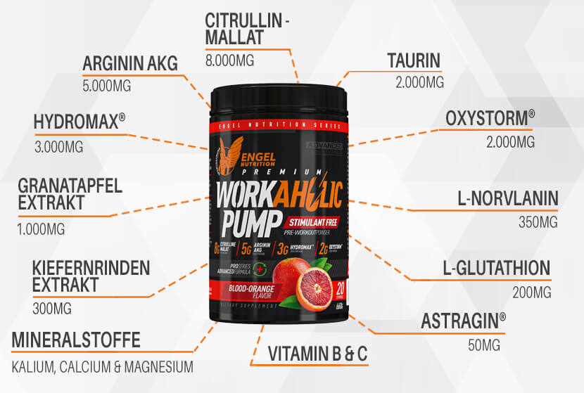 Highlights Workaholic Trainingsbooster XS