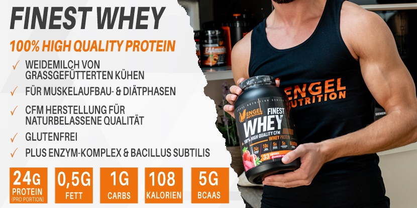 Engel Nutrition Finest Whey Protein