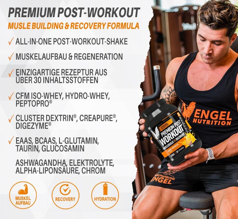 Banner Engel Nutrition Premium Post Workout XS