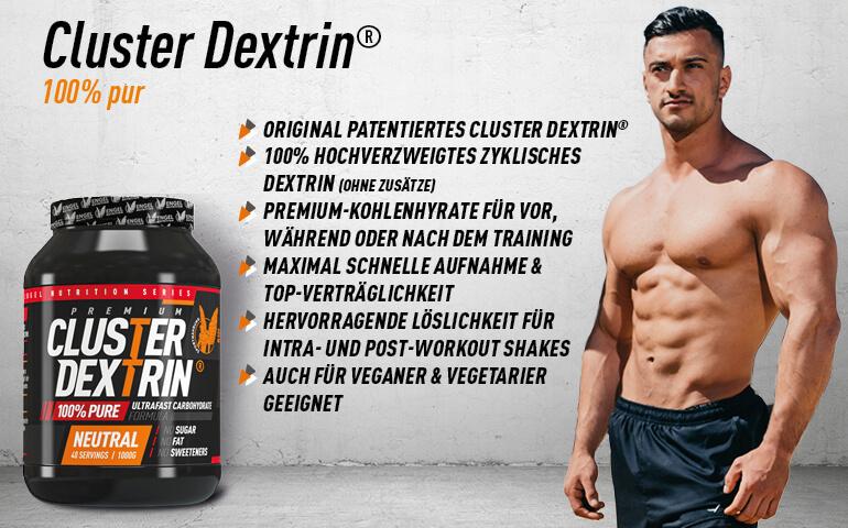 Highlights Cluster Dextrin