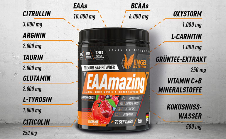 Engel Nutrition EAAmazing Produkthiglights LG